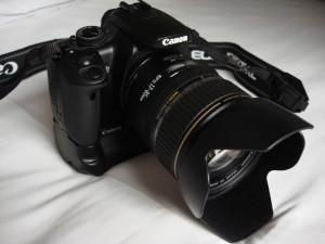 The Canon EOS-400D (Digital Rebel XTi)