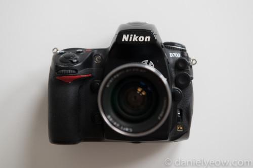 Nikon D700 - Front View