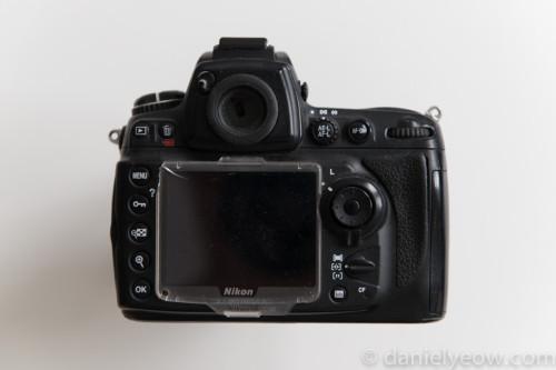 Nikon D700 - rear view