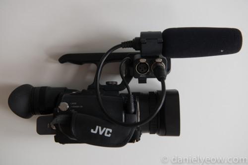 JVC GY-HM100u