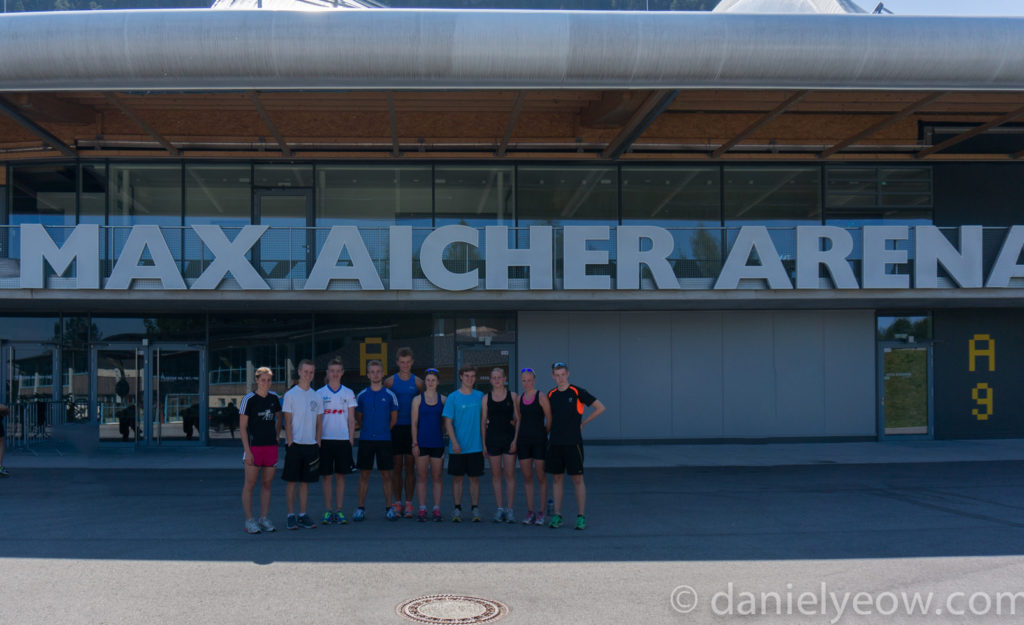Yeowie's 2013 Inzell Summer Ice Camp